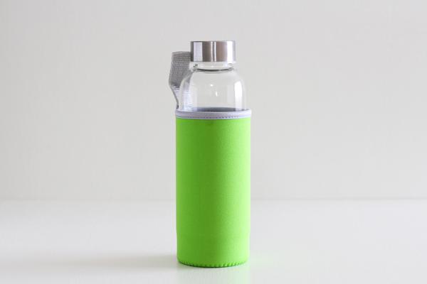 キャリーティーボトル 黄緑 380ml