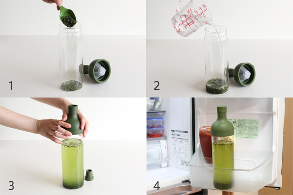 HARIO/ハリオ フィルターインボトル 耐熱 水出し茶ポット 750ml