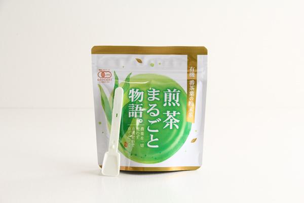 有機の粉末煎茶 煎茶まるごと物語