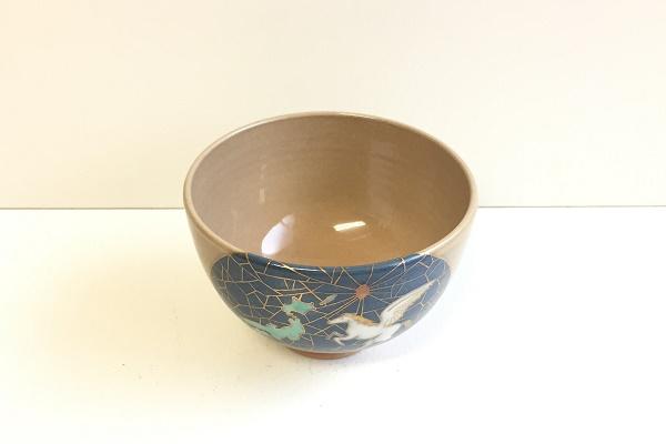 茶碗 天馬照国日本 山川敦司作