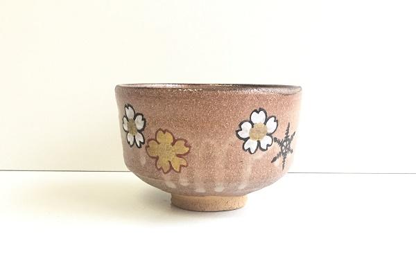 茶碗 乾山 桜 佐久間房丘作