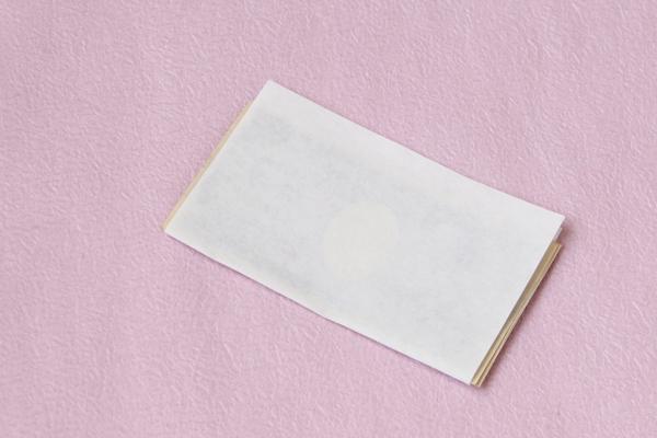 懐紙 静 小菊紙