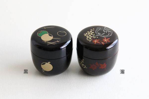 茶道具 棗/薄茶器 プラスチック製 お稽古用